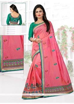 Impeccable Chanderi Designer Traditional Saree