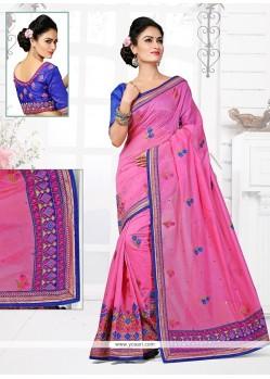 Beckoning Chanderi Designer Traditional Saree