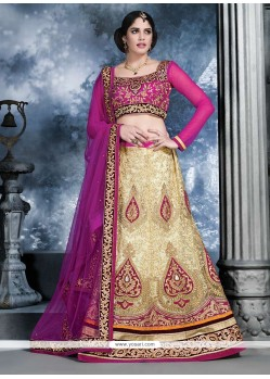 Baronial Off White Benarasi Lehenga Choli