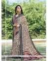 Enchanting Multi Colour Printed Saree