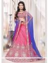 Glorious Pink Lehenga Choli