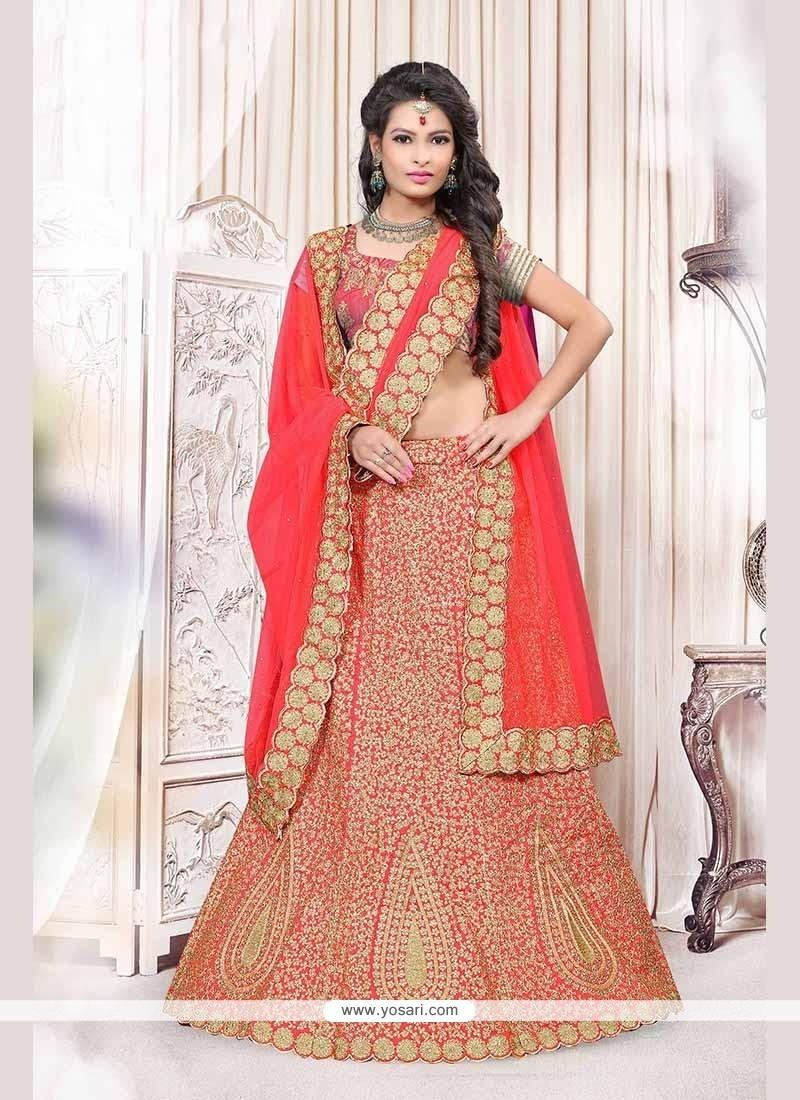 Sensational Bhagalpuri Silk Embroidered Work Lehenga Choli