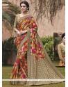 Vivacious Print Work Printed Saree
