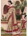 Mystic Multi Colour Print Work Printed Saree
