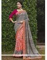 Preferable Multi Colour Print Work Printed Saree