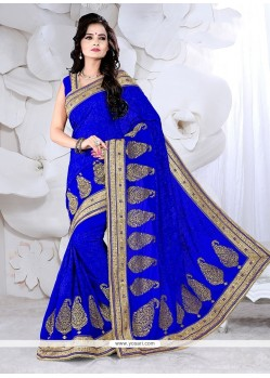 Artistic Zari Work Classic Designer Saree