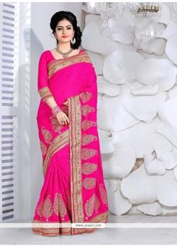 Topnotch Zari Work Classic Designer Saree