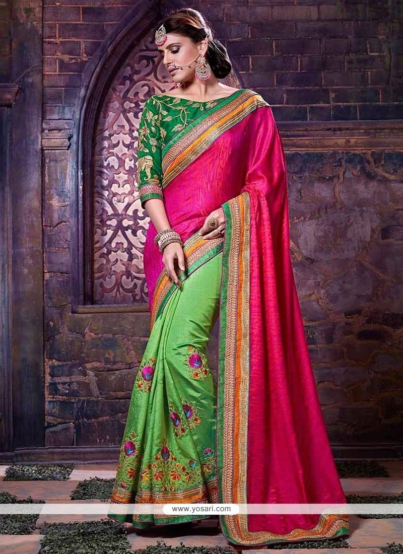 Fantastic Art Silk Designer Traditional Saree