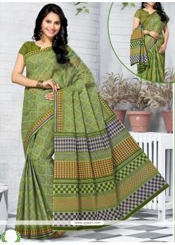 Mod Printed Saree For Casual