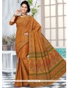 Sonorous Printed Saree For Casual