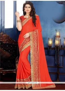 Pristine Faux Chiffon Traditional Designer Saree