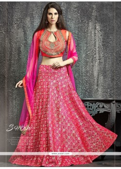 Flawless Banarasi Silk Lehenga Choli