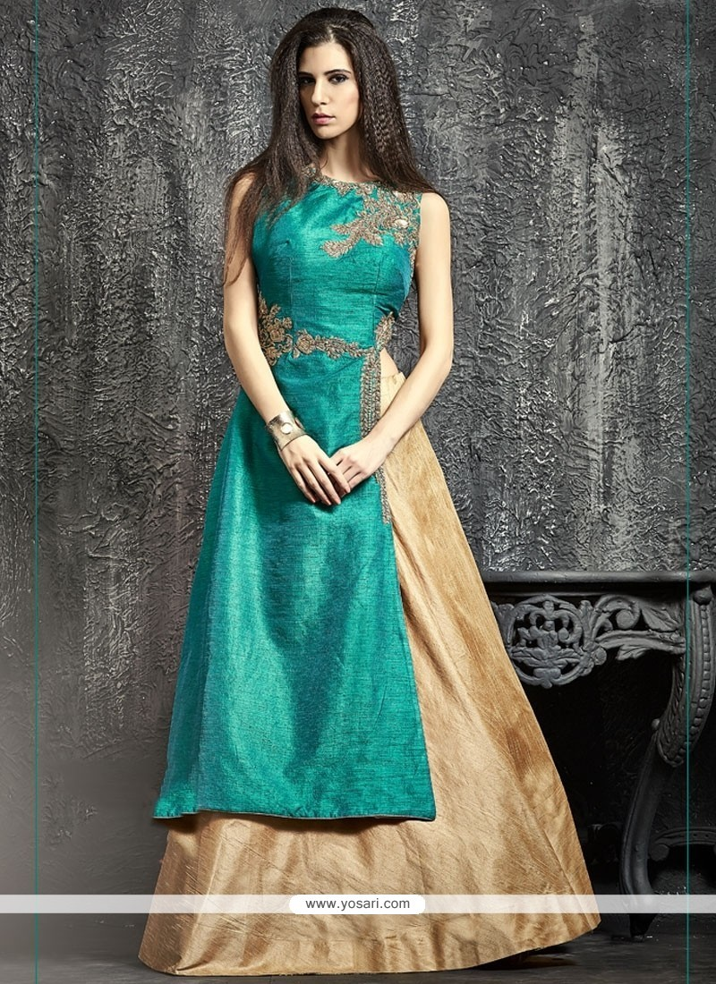 Thrilling Raw Silk Sequins Work Lehenga Choli