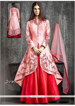 Specialised Raw Silk Lehenga Choli