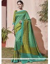 Specialised Art Silk Embroidered Work Traditional Saree