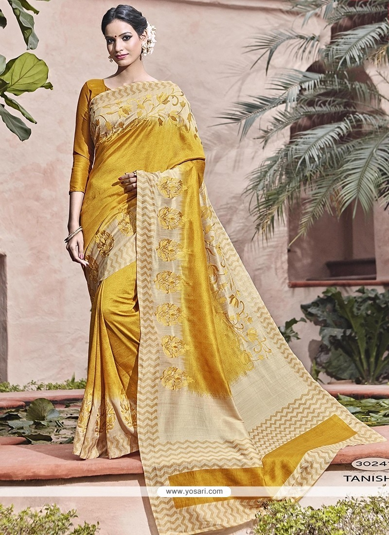 Elite Patch Border Work Traditional Saree