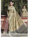 Enchanting Print Work Multi Colour Traditional Saree