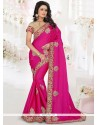 Royal Art Silk Magenta Traditional Saree