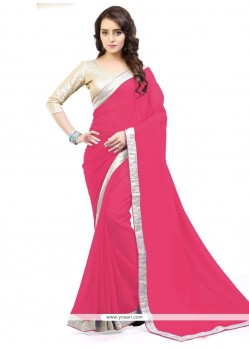 Invaluable Lace Work Casual Saree