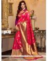 Classy Cotton Silk Weaving Work Designer Traditional Saree