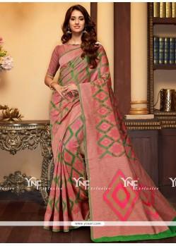 Spectacular Cotton Silk Traditional Saree