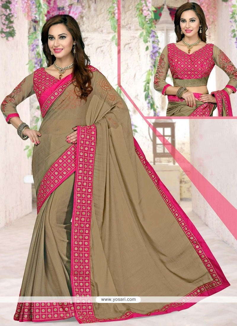 Especial Lace Work Saree