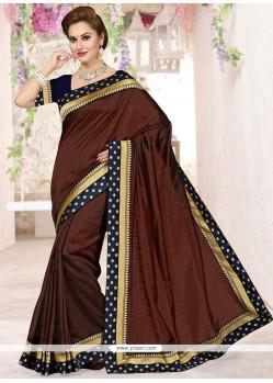 Superb Lace Work Traditional Designer Saree