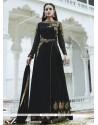 Imposing Resham Work Black Designer Palazzo Suit
