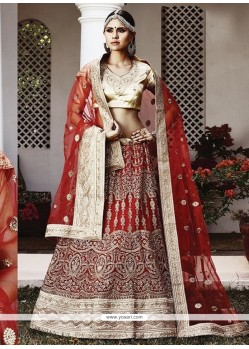 Prepossessing Net Lehenga Choli