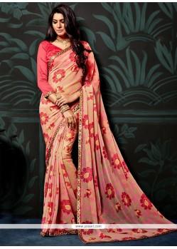 Tiptop Printed Saree For Casual