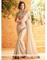 Grandiose Lace Work Art Silk Designer Traditional Saree
