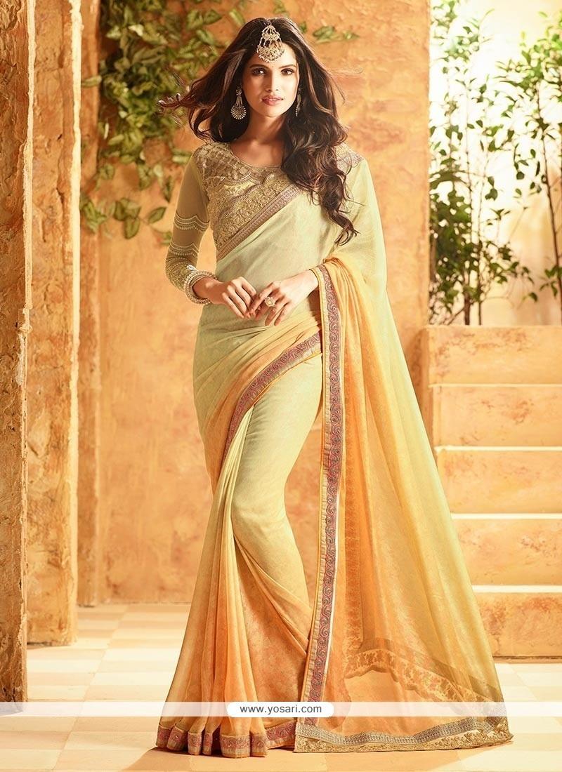 Exceptional Art Silk Lace Work Designer Traditional Saree