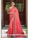 Irresistible Art Silk Red Designer Traditional Saree