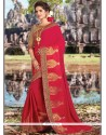 Lavish Art Silk Embroidered Work Traditional Designer Saree