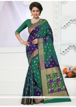 Epitome Weaving Work Traditional Designer Saree