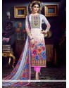 Graceful Multi Colour Pant Style Suit