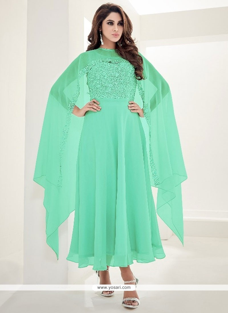 Adorable Embroidered Work Party Wear Kurti