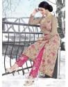 Ayesha Takia Embroidered Work Faux Georgette Designer Suit