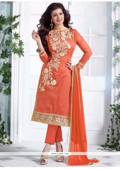 Ayesha Takia Chanderi Pant Style Suit.