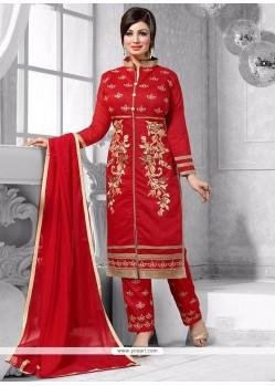 Ayesha Takia Chanderi Pant Style Suit