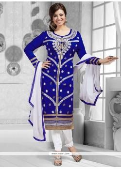 Ayesha Takia Blue Churidar Suit