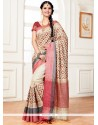 Deserving Weaving Work Multi Colour Traditional Saree
