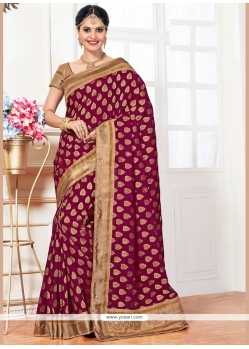 Impeccable Art Silk Traditional Designer Saree