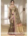 Captivating Banarasi Silk Traditional Designer Saree