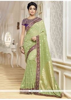 Best Banarasi Silk Embroidered Work Traditional Designer Saree