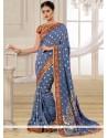 Captivating Embroidered Work Banarasi Silk Traditional Designer Saree