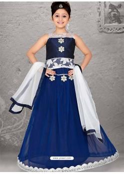 Awesome Blue Readymade Lehenga Choli