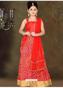 Appealing Red Lehenga Choli
