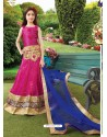 Astonishing Pink Readymade Lehenga Choli