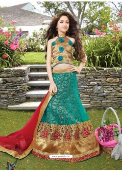 Beautiful Green Lehenga Choli